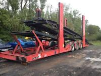 Car transporter trailer for 11 cars 2004 model year built