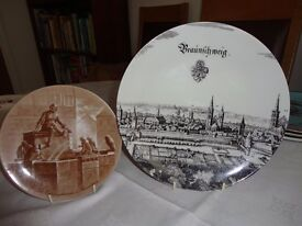 West German plates