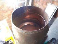 Copper cylinder