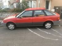 Rover 214 1.4 manual very low miles Jan 2018 mot drives very well