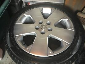 5x110 vauxhall vectra gsi alloys and tyres