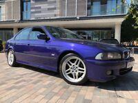 2002 52 Bmw 5 Series 540I M Sport Auto Individual Huge Spec Sat Nav Beautiful Example Velvet Blue