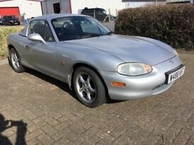 MAZDA MX5 MK2 NB 1.8iS VERY GOOD CONDITION WITH FACTORY HARDTOP & NEW MOT