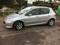 Peugeot 307, 850 £ (not Astra, focus, golf)