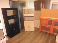 BRAND NEW 2FT DOUBLE VIVARIUM AND CABINET IN BEECH
