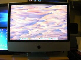 """Apple iMac 24"""" screen Computer and Apple accessories"""
