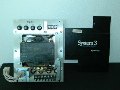 Siemens Cerberus Ps-31 System 3 Power Supply Fire Alarm Part