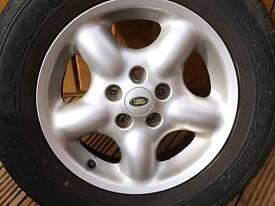 Freelander wheel