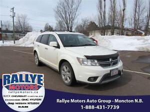 2012 Dodge Journey R/T! AWD! Back-Up! Alloy! Sunroof! Heated! Le