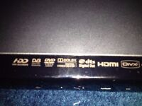Samsung Hard Drive Recorder DVD-SH893M 160GB Hard Drive DVD HDD DVB Freeview Recorder HDMI PVR USB