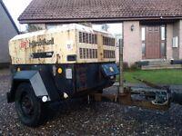 Compressor,diesel engine,Ingersoll rand ,road towable ,two tool,7/26 type,90cfm