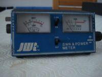 JWR SWR & POWER METER