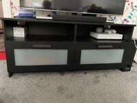 BLACK TV STAND- IKEA