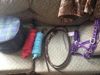 Assorted Tack and Equipment