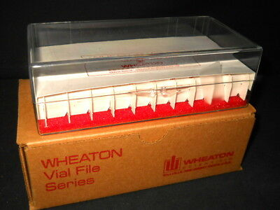 Wheaton 40-place M-t Vial File Storage Box For 2ml 4ml Vials 228780