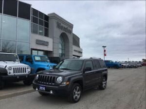 2016 Jeep Patriot High Altitude 4x4 Leather, Bluetooth, Sunroof