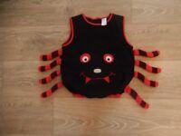 Boys / Girs Kids Halloween Costume / Dress Up - Spider 4-5 years 116cm