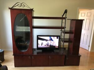 Meuble télé et table d'appoint