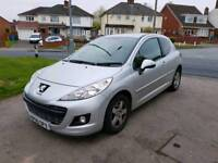Peugeot 207 2011 1.4 sportium 2 owners from new