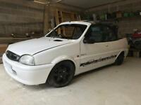 Rover metro cabriolet 114 rare car , project