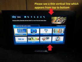 """37"""" Matsui MAT37LW507 HD Television & Hitachi Digital TV Recorder - Calls only - No text"""