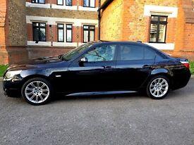 BMW 5 Series Auto 3.0 530d M Sport Diesel Carbon Blue Black , Automatic Immaculatte Condition, £3800