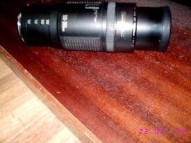 CANON ET - 62 SLR LENS 100 - 300MM
