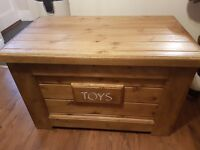 3ft Solid Pine Toy/Storage Box