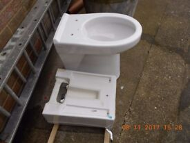 low level disabled toilet & cistern