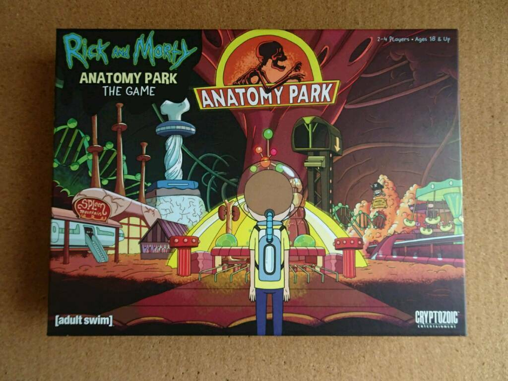 Rick and Morty Anatomy Park boardgame | in Fallowfield, Manchester | Gumtree