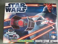 "Micro Scalextric Star Wars ""Death Star Attack"""