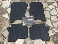 Rubber Mats for Landrover Discovery 4, 2009 onwards