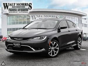 2016 Chrysler 200 C - LEATHER, HEATED SEATS, PWR SUNROOF