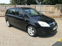 2009 {58 Reg} VAUXHALL ZAFIRA 1.8 MANUAL IN EXCELLENT CONDITION. 1 YEAR MOT. FULL SERVICE HISTORY