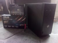 Gaming PC Quad Core A10, SSD 280x 3gb GDDR5