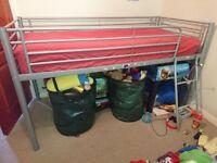 Mid rise sleeper and silent night mattress