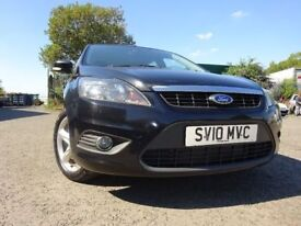 010 FORD FOCUS ZETEC TDCI 1.6 DIESEL ESTATE,MOT JULY 019,3 OWNERS,2 KEYS,PART HISTORY,LOVELY EXAMPLE