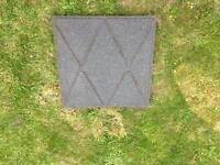 Rubber safety mats x 50