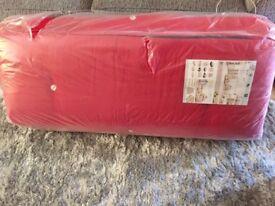 Red futon matress