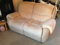 Reclining Sofa, 2 Seater