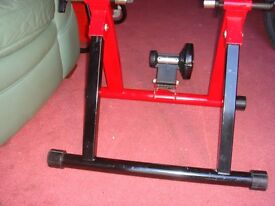 "INDOOR CYCLE TRAINER ............ "" BARGAIN PRICE "" !!!!!!!!!!!!!!!!!!!!!!......................"