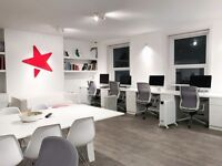 Modern desk space to rent in Bournemouth Town Center