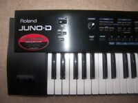 Roland JUNO-D Limited Edition 61-Key Keyboard , 706 Patches , 686 Tones , 128 User , 20 Rhythm Sets.