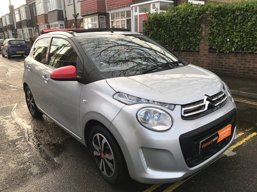 2014 citroen c1 very low miles feel edition airscape convertible mmedia fsh soft top finance. Black Bedroom Furniture Sets. Home Design Ideas