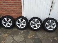 Skoda alloy wheels with excellent tyres