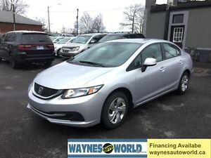 2013 Honda Civic LX ***HEATED SEATS***