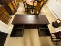Solid Wood TV Cabinet - Mahogany colour (John Lewis) very good condition