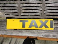 3 New D.O.E approved Taxi signs