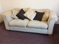 Large double sette and matching armchair