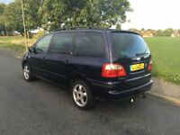 Ford Galaxy 1.9TD 130PS Ghia top spec every extra low mileage 87,000 miles 2 owners with history